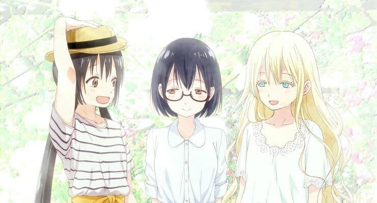 Asobi Asobase Anime Header