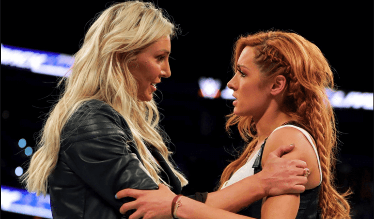 WWE Stars Becky Lynch and Charlotte Flair