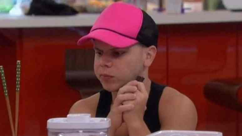 JC Mounduix in the Big Brother kitchen
