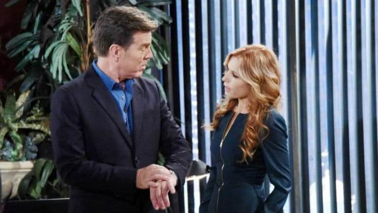 Jack and Lauren on The Young and the Restless