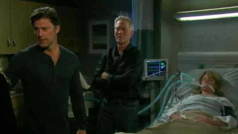 Family gathers in Marlena's hospital room on Days of our Lives