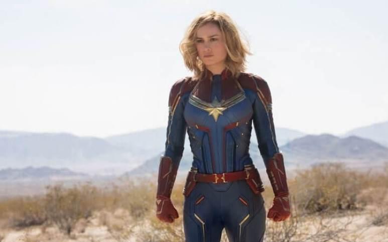 Brie Larson stars as Captain Marvel