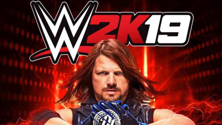 WWE 2K19 roster reveal shows AJ Styles on the cover