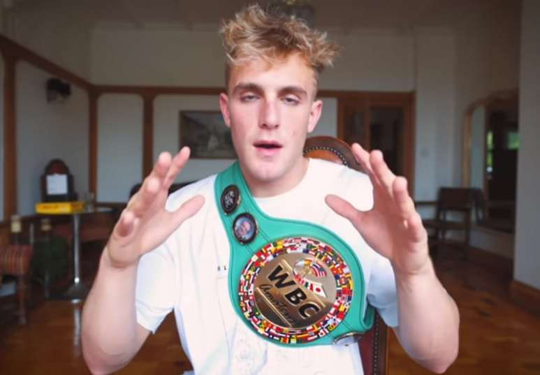Jake Paul made a video to talk about WBC boxing matches and how much fun he had