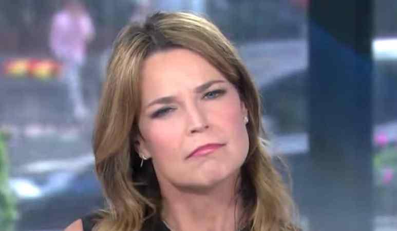 Savannah Guthrie adressing pregnancy rumors on Today