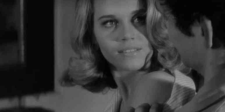 Fonda speaks fluent French and charmed Vadim, whom she later left. Pic credit: HBO