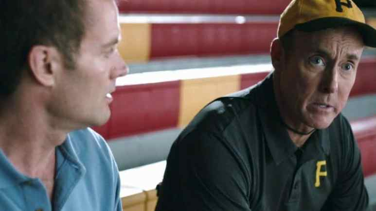 A still from Benched with John C. McGinley(right) Pic credit: Gravitas Ventures