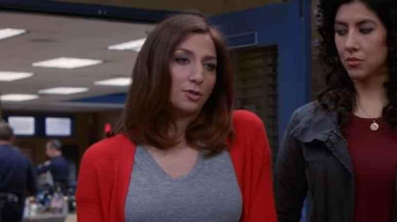 Chelsea Peretti as Gina Linetti on Brooklyn Nine-Nine