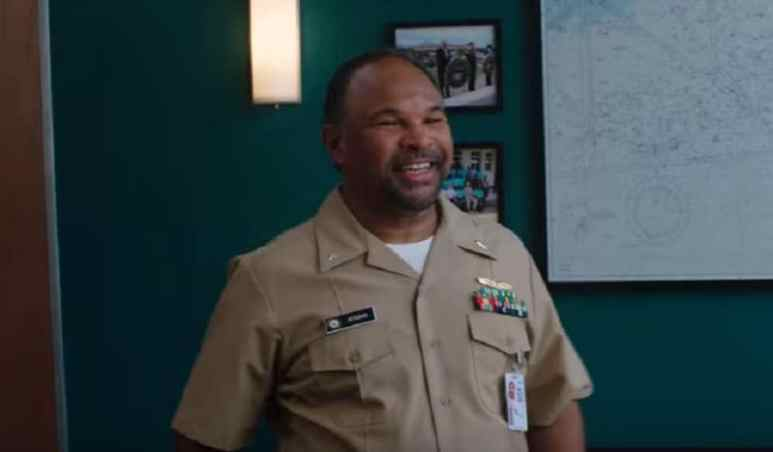 Geoffrey Owens as Commander Calvin Atkins on NCIS: New Orleans