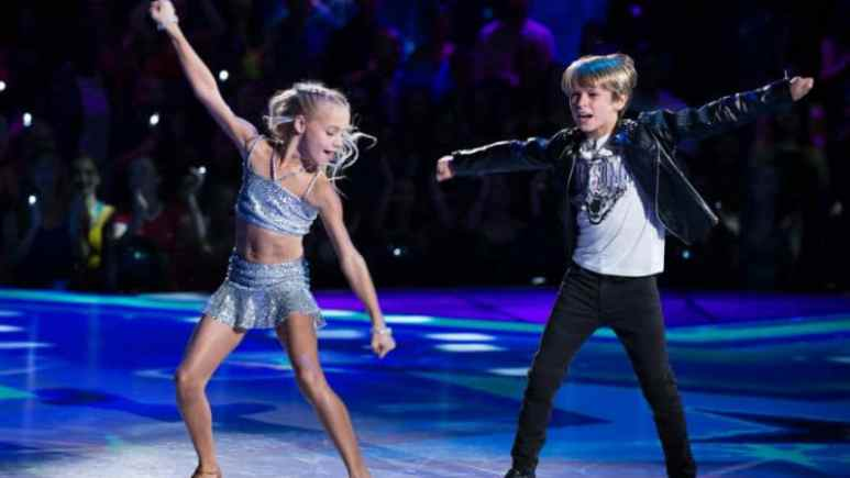 Hudson West dancing on Dancing with the Stars: Juniors