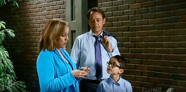 Kevin, Laura and Spencer on General Hospital