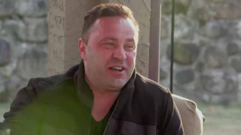 Joe Giudice before heading to prison on The Real Housewives of New Jersey