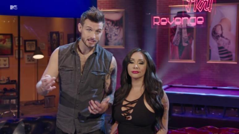 Nico Tortorella and Nicole Snooki Polizzi hosting How Far Is Tattoo Far on MTV