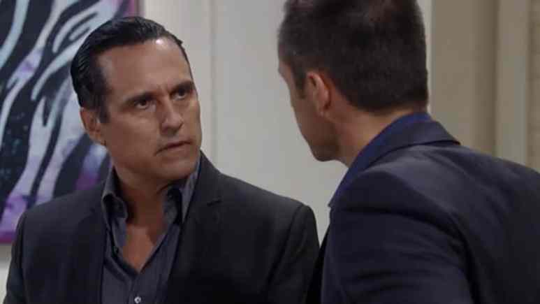 Maurice Benard and William deVry as Sonny and Julian on General Hospital