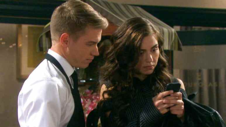 Tripp and Ciara from Days of our Lives