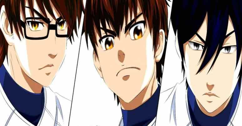 Ace Of Diamond Anime Characters