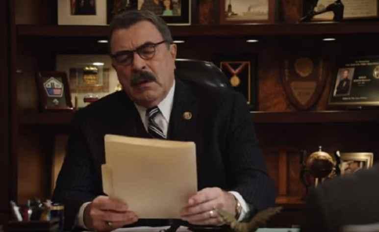 Tom Selleck as Frank Reagan on Blue Bloods