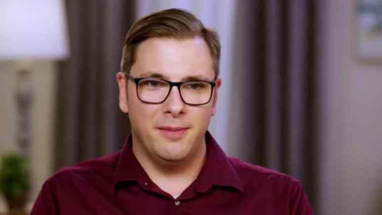 Colt from 90 Day Fiance in the confessional