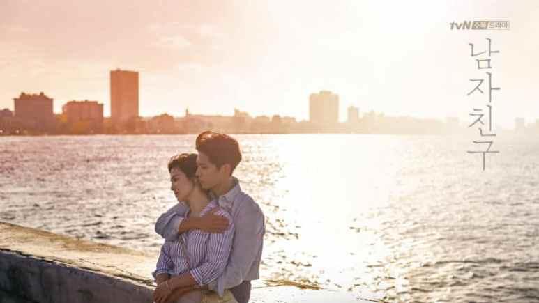 Encounter K-drama stars  Song Hye-kyo and Park Bo-gum