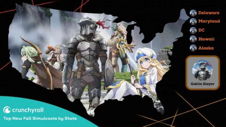 Goblin Slayer Crunchyroll Most Popular Anime