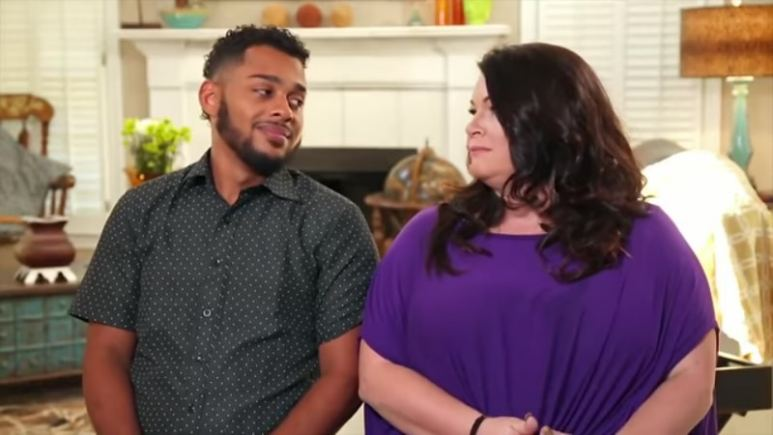 Luis and Molly before their divorce on 90 Day Fiance: Happily Ever After? Pic credit: TLC