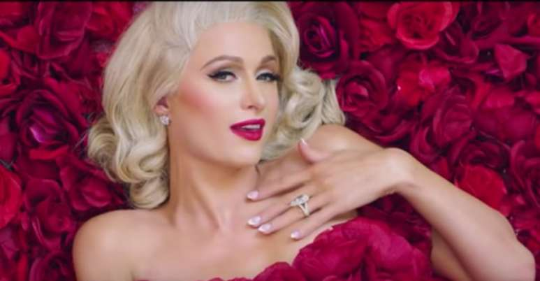 Paris Hilton in the I Need You music video