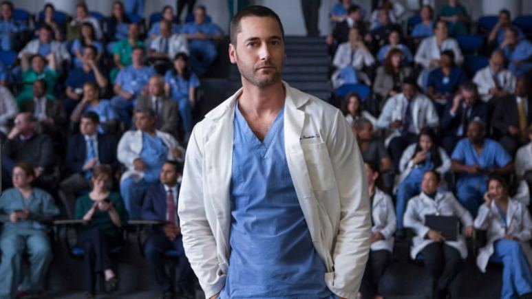 Ryan Eggold from New Amsterdam