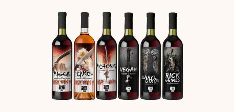 Not sure how they taste, but the bottles will make an impression. Pic credit: AMC