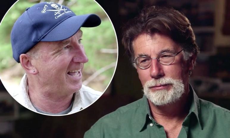 Rick Lagina and Gary Drayton on The Curse of Oak Island Season 6 Episode 1