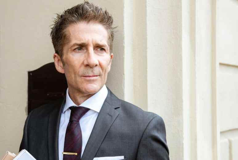 Leland Orser's Kirsch is a complex and vexing character inside of Berlin Station. Pic credit: EPIX