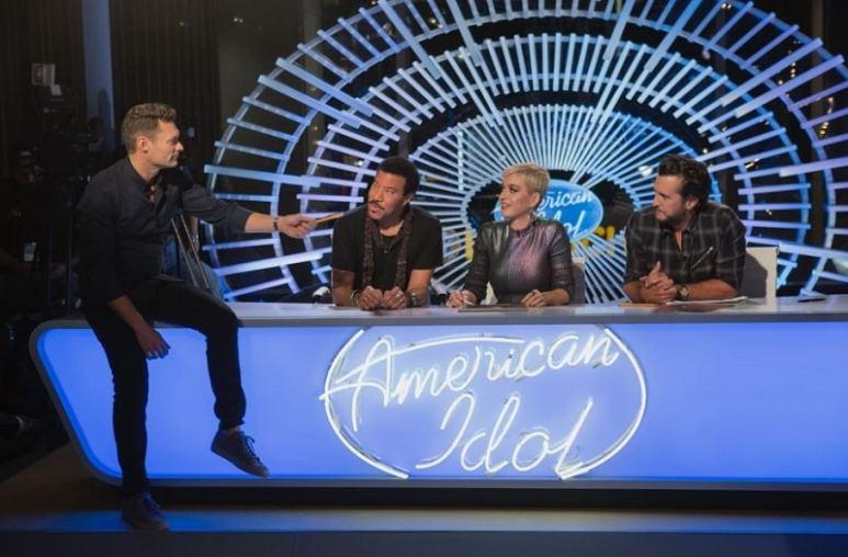 American Idol Ryan Seacrest, Lionel Richie, Katy Perry, Luke Bryan