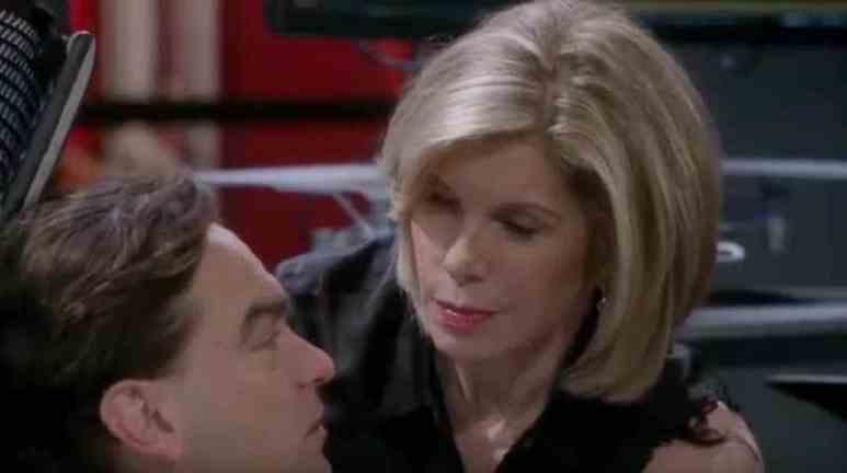 Christine Baranski as member of The Big Bang Theory cast. Pic credit: CBS