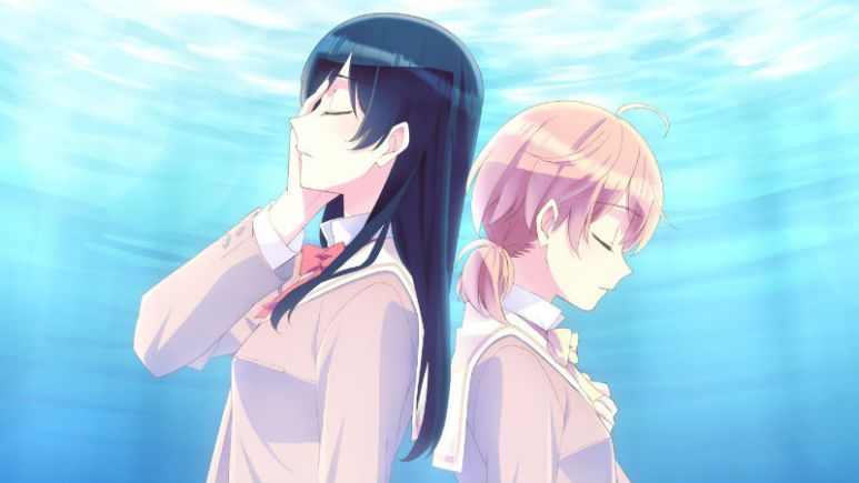 Yuu and Touko in Bloom Into You