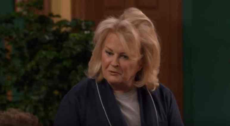 Candice Bergen on a new episode of Murphy Brown