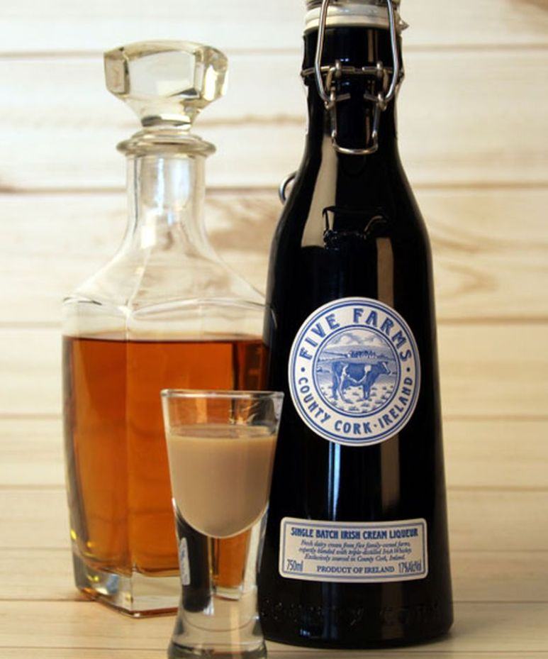Gorgeous bottle with creamy fresh happy cow creaminess from Ireland. Pic credit: Five Farms
