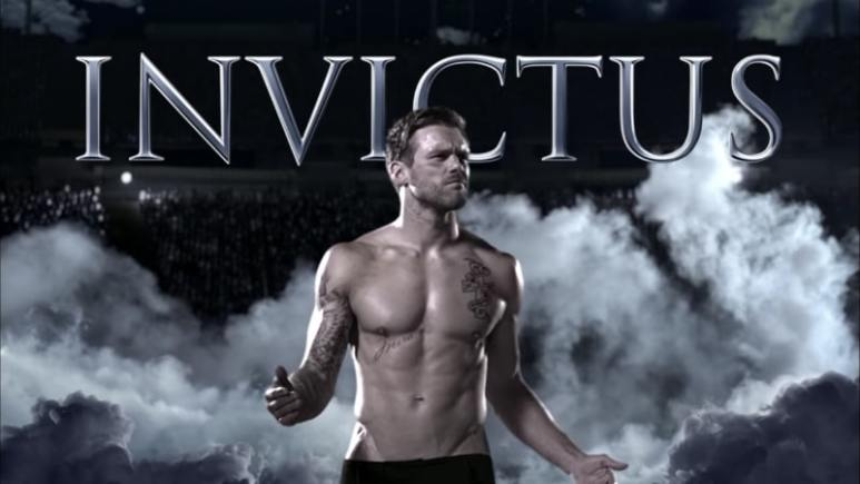 Nick Youngblood is the model behind the new Invictus Aqua ads but who is he? Pic credit: Paco Rabanne/YouTube