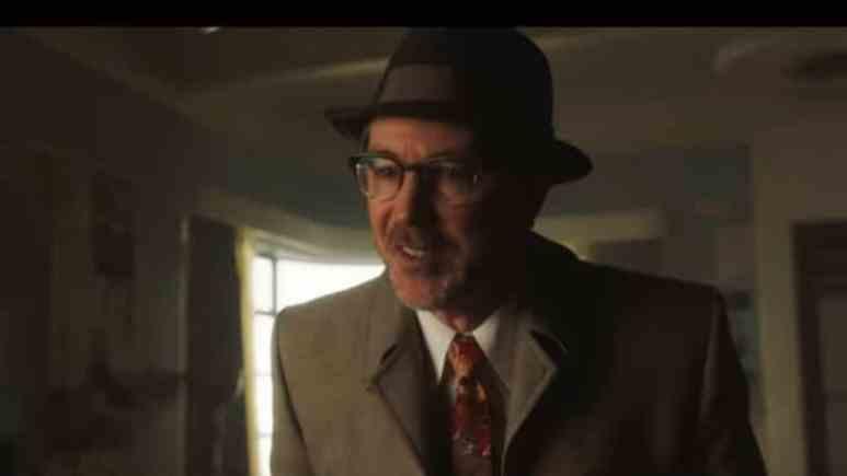 Aidan Gillen as J. Allen Hynek in Project Blue Book