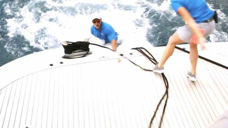 Ashton Pienaar on Below Deck