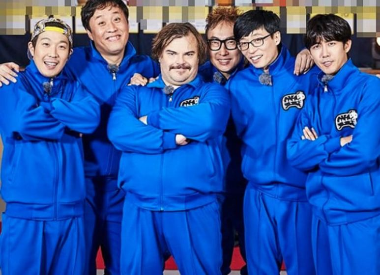 Jack Black on Infinite Challenge