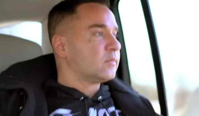 Mike Sorrentino documents his trip to prison on Instagram