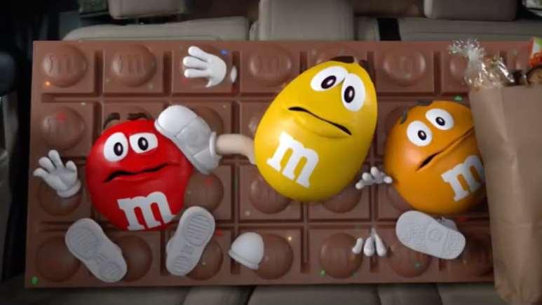 M&M Super Bowl Commercial