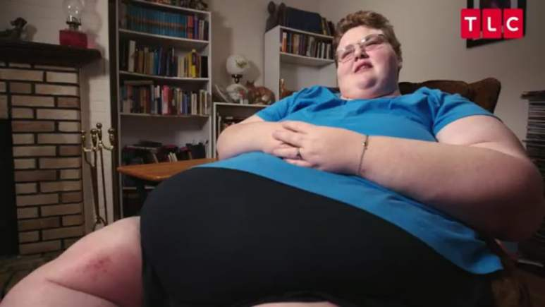 Holly Hager at the start of her journey on My 600-lb Life