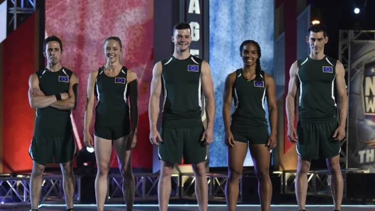 Team Europe on American Ninja Warrior: USA Vs. the World