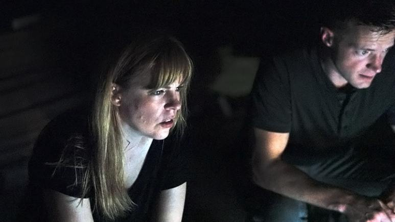 Amy Bruni and Adam Berry of Kindred Spirits investigate paranormal phenomena