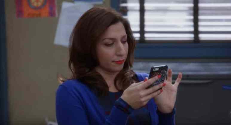 Chelsea Peretti as Gina Linetti on Brooklyn Nine-Nine cast.