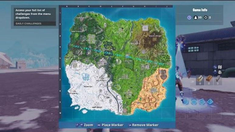 Fortnite map possibly leaked for season 8, revealed by Reddit user