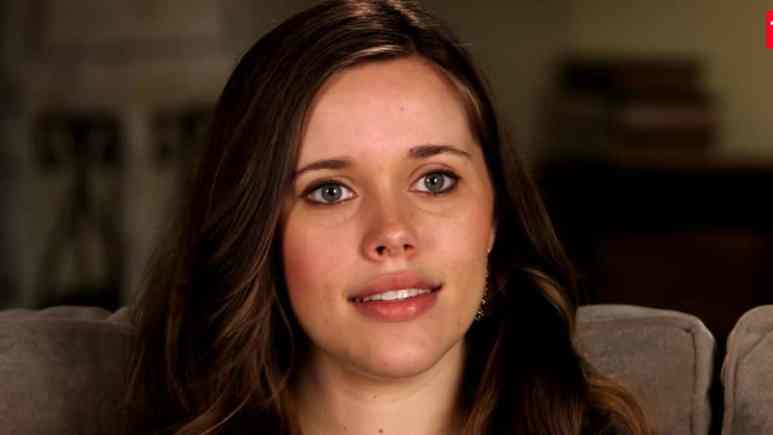 Jessa Duggar during a Counting On confessional