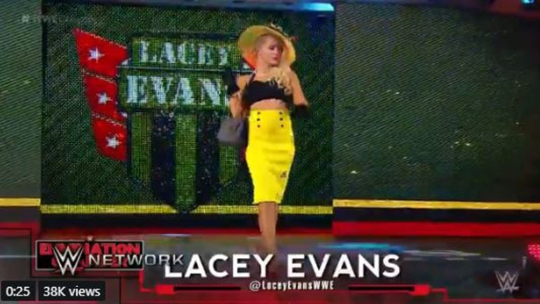 Who is Lacey Evans?