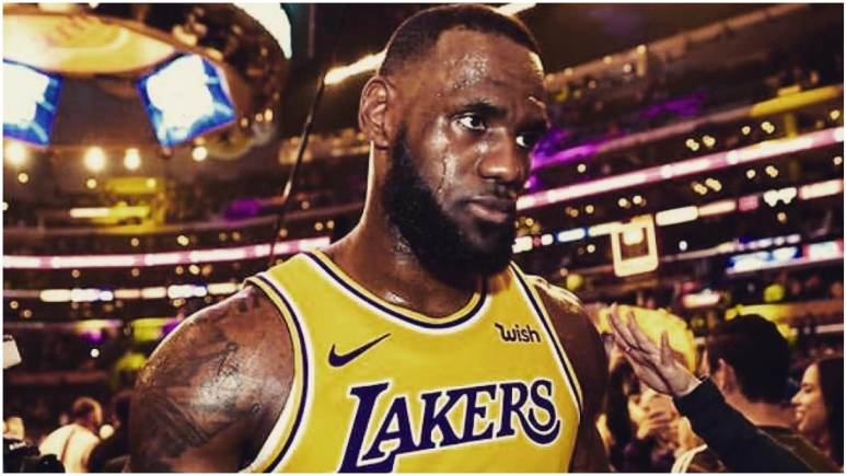LeBron James calls out Lakers