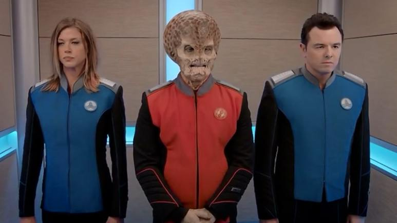 Major Orville guest star teased: Was that Bruce Willis as the huge flower?